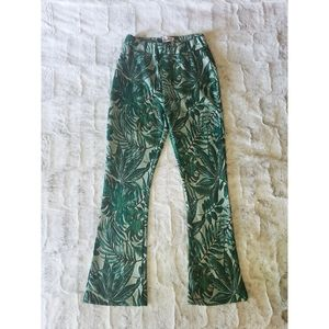 NWT Urban Outfitters Botanical Kick Flare Pants